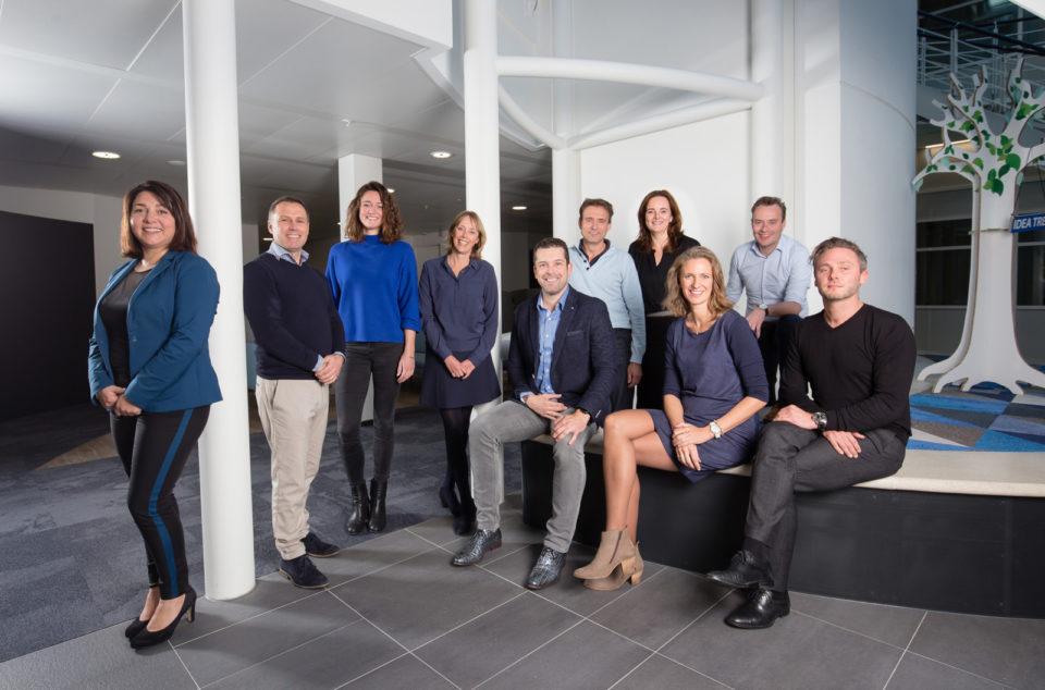 Nederland, Breda, 02-11-2018Amgen management team