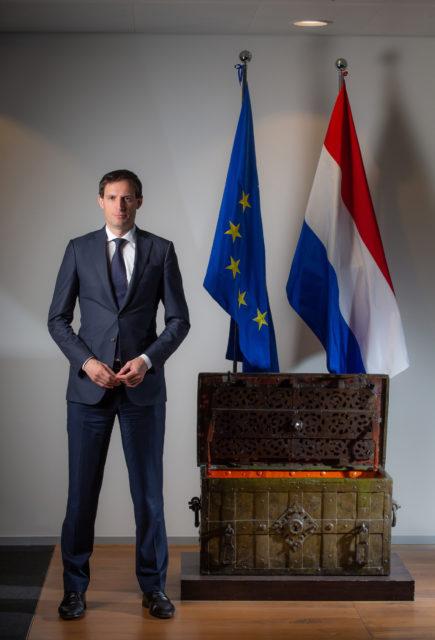 Wopke Hoekstra, Minister of Finance the Netherlands. Photo: Peter Boer/Bloomberg