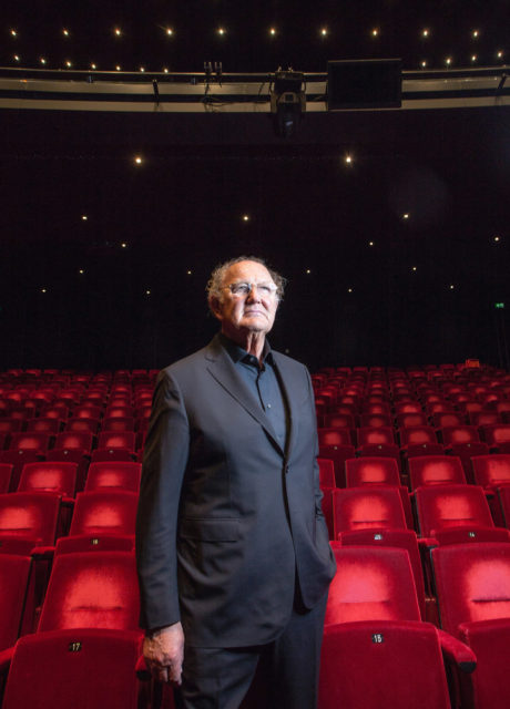Nederland, Amsterdam, 14-02-2017 Joop van den Ende, theaterman en ondernemer. delamar Theater.