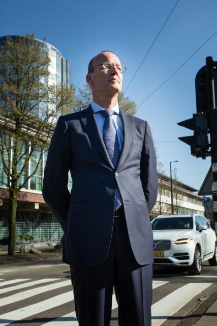 Nederland, Amsterdam, 28-02-2017 Klaas Knot, president de Nederlandsche Bank.