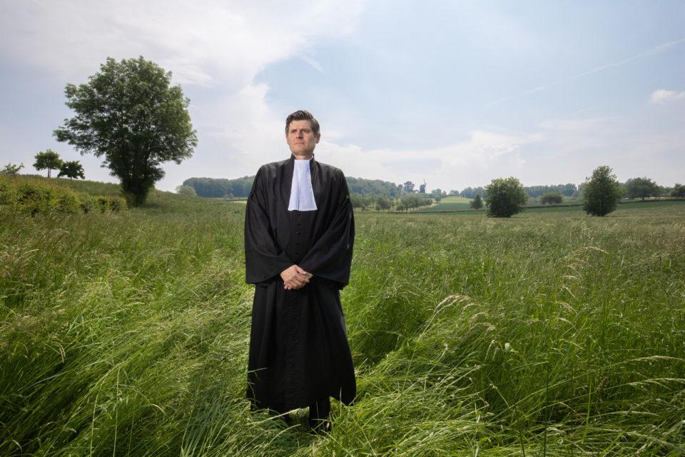June 2021, Vrouwenheide, the Netherlands. Roger Cox, lawyer. Photo: Peter Boer/Bloomberg