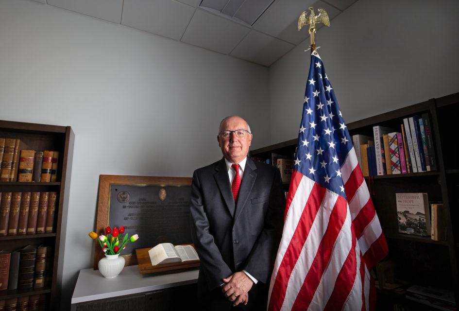 Nederland, Wassenaar,  Pete Hoekstra, ambassador U.S.A.