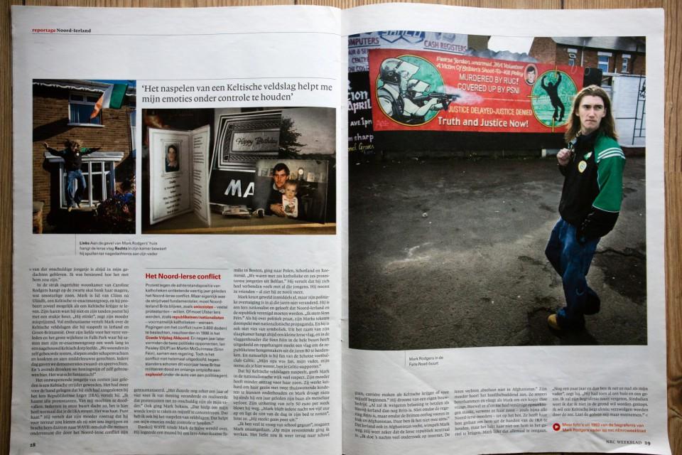 NRC Handelsblad 2009. Op zoek naar Mark Rodgers,