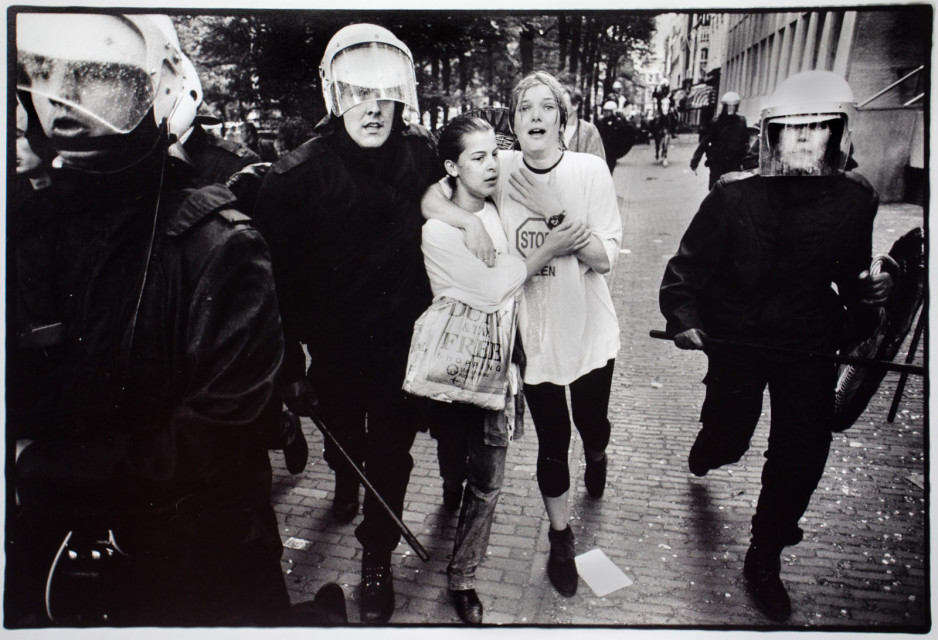Studenten demo Den Haag 1993